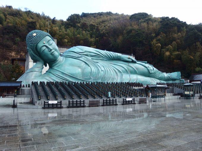 福岡県糟屋郡篠栗町-南蔵院-釈迦涅槃像