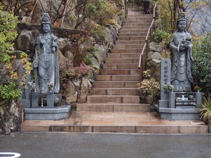 福岡県糟屋郡篠栗町-南蔵院-駐車場横の階段