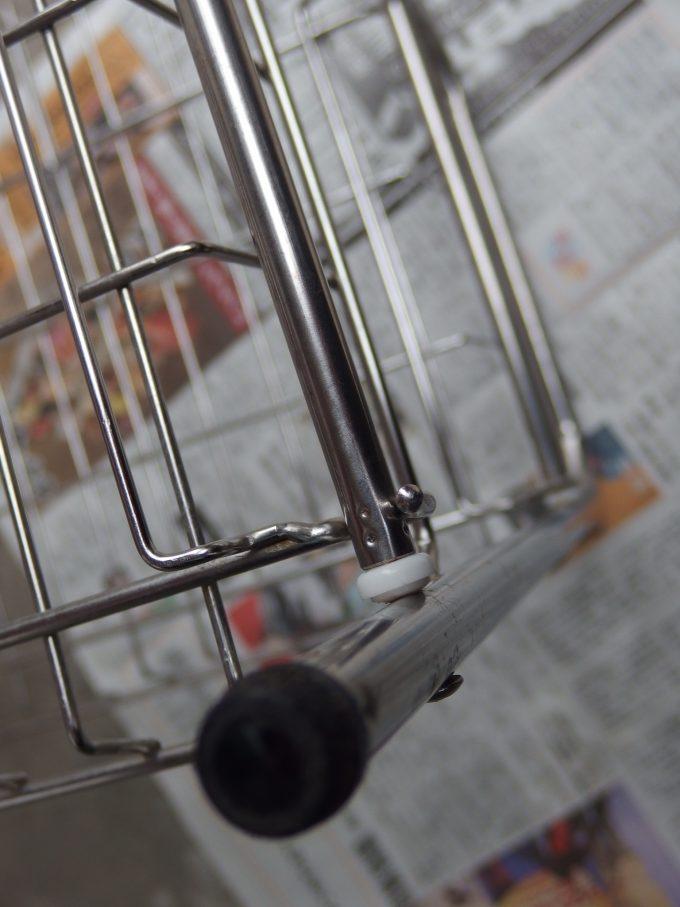 ステンレス製-食器水切りラックのサビ 除去後-2