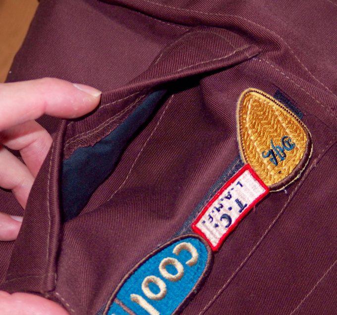A.P.Cアーペーセー-フィールドジャケット-胸ポケット