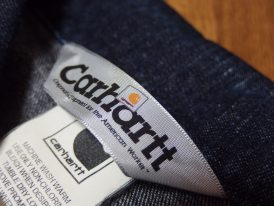 Carhartt-カーハート-ラベルロゴ画像