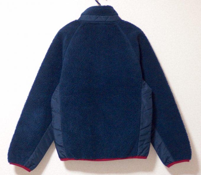 Columbiaコロンビアボアフリースジャケット-背面画像