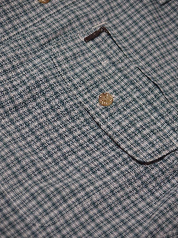Foxfire-フォックスファイヤー-チェックシャツ-ファスナー付きポケットとフラップ付きポケット