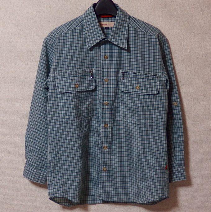 Foxfire-フォックスファイヤー-チェックシャツ-正面画像