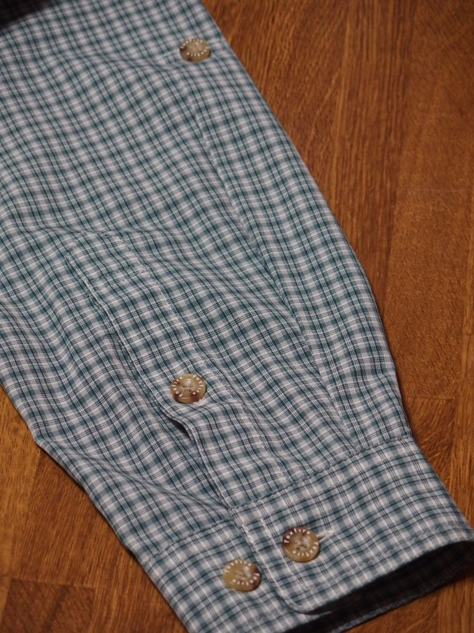 Foxfire-フォックスファイヤー-チェックシャツ-袖画像