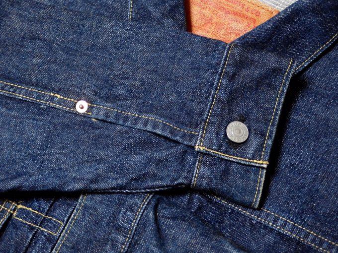 Levisリーバイス-71507-ジージャン-セカンドモデル-袖の画像