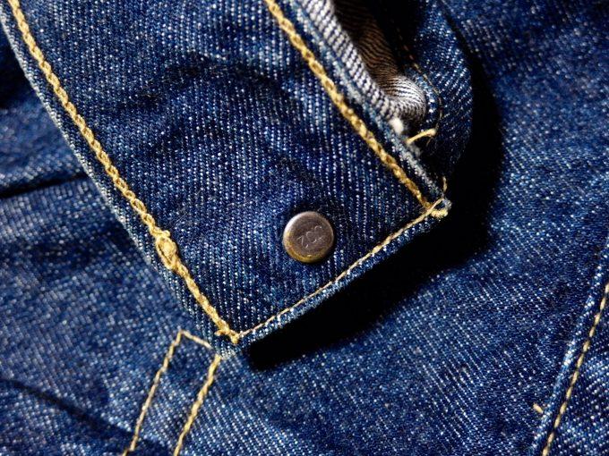 Levisリーバイス-71507-ジージャン-セカンドモデル-袖裏の画像