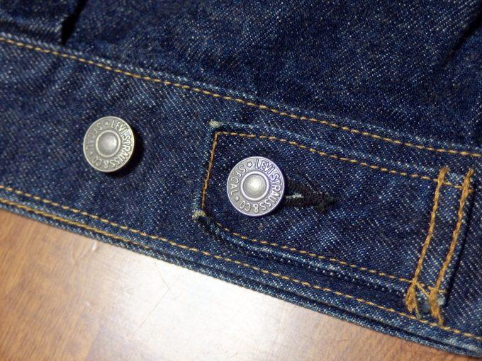 Levisリーバイス-71507-ジージャン-セカンドモデル-裾-アジャストボタン