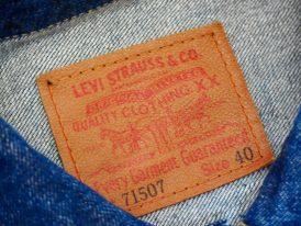 Levisリーバイス-71507-ジージャン-セカンドモデル-革パッチ