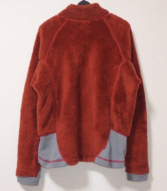Lowe-alpine-ロウアルパイン-フリースジャケット-背面画像