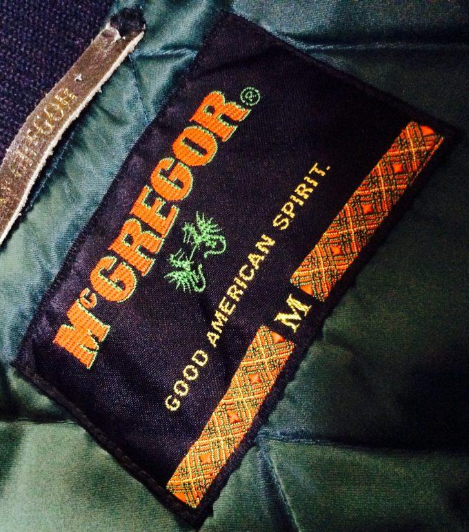 McGREGOR マックレガー ロゴ