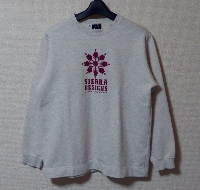 SIERRA-DESINGNSシエラ-デザインズ-スウェットシャツ