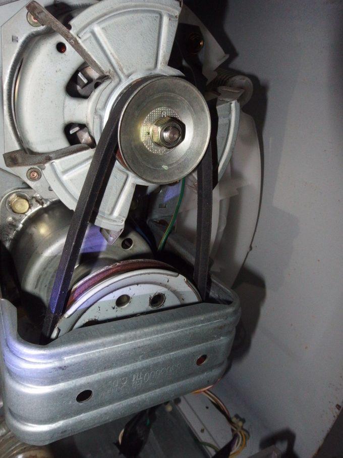 洗濯機Vベルト-交換完了