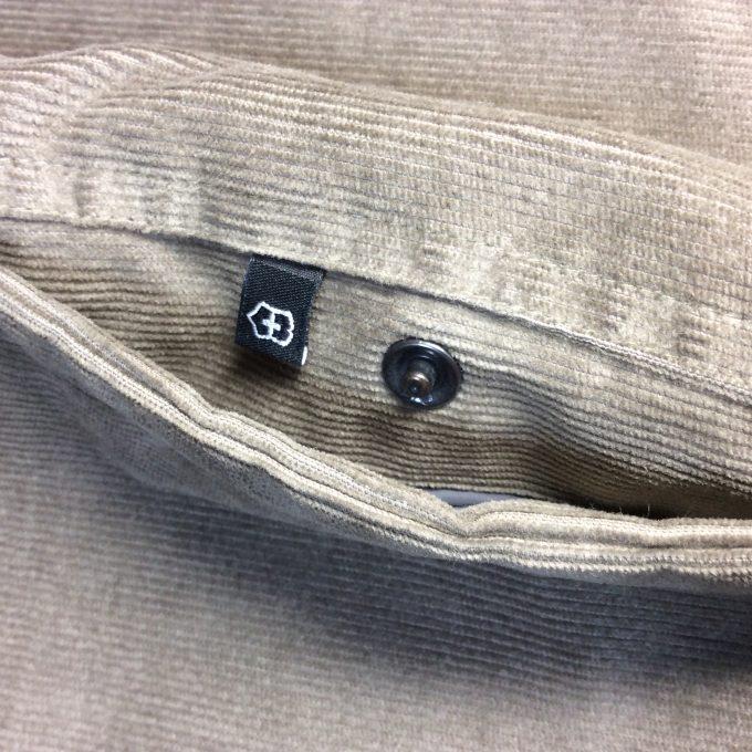 VICTORINOX ビクトリノックス 中綿入りCPOジャケット スナップ付きアウトサイド・ポケット アップ画像