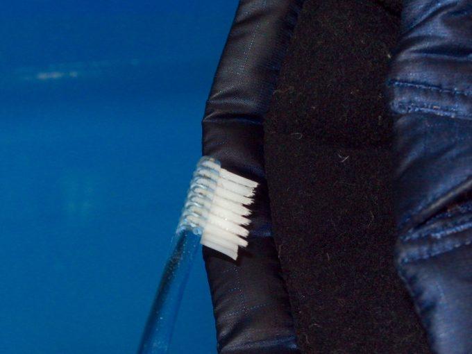 patagoniaパタゴニア-ダウンジャケット-皮脂脂の汚れ-部分洗い-2.