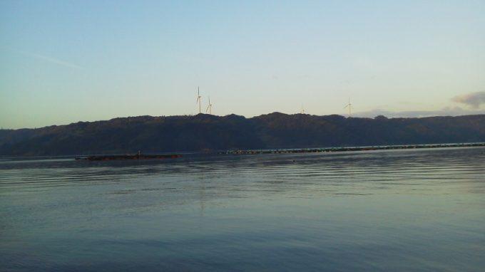 仮屋湾遊漁センター早朝