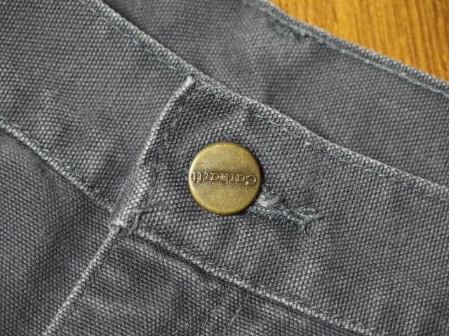 Carhartt カーハート ダックワークショートパンツ トップボタン