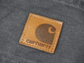 Carhartt カーハート ダックワークショートパンツ 革パッチ